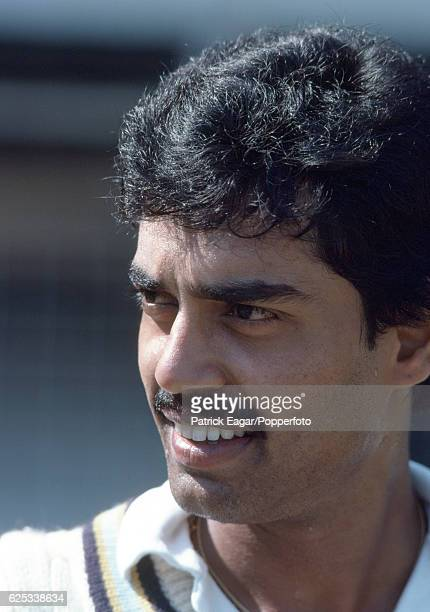 Dilip Vengsarkar of India before the 1st Test match between India and England at Wankhede Stadium Bombay India 26th November 1981