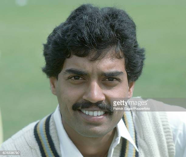 Dilip Vengsarkar of India during the 1982 tour of England circa May 1982