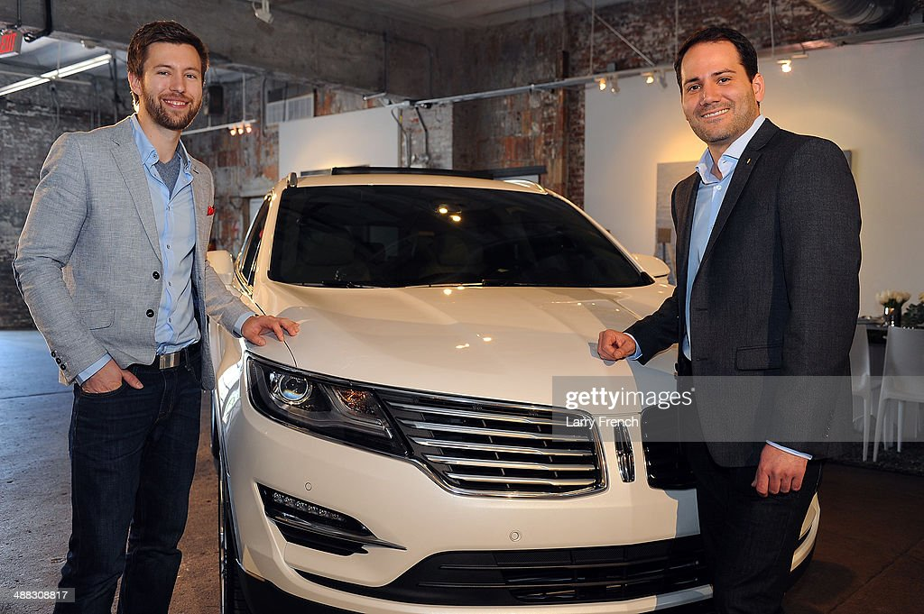 Dillon Blanski Left Lincoln MKC Exterior Designer And Antonio Molinari Interior