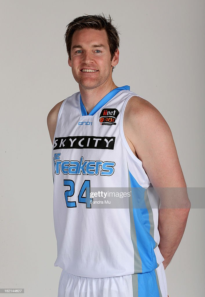 Dillon Boucher of the Breakers poses for a headshot at the Breakers Headquarters on September 17 2012 in Auckland New Zealand