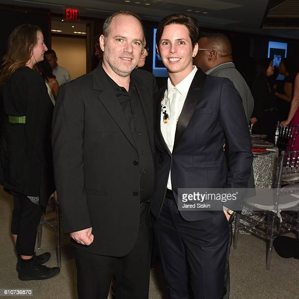 Dillon Cohen and Jessica Silverman attend Abstracted Black Tie Dinner Hosted by Pamela Joyner Fred Giuffrida and the Ogden Museum of Southern Art to...