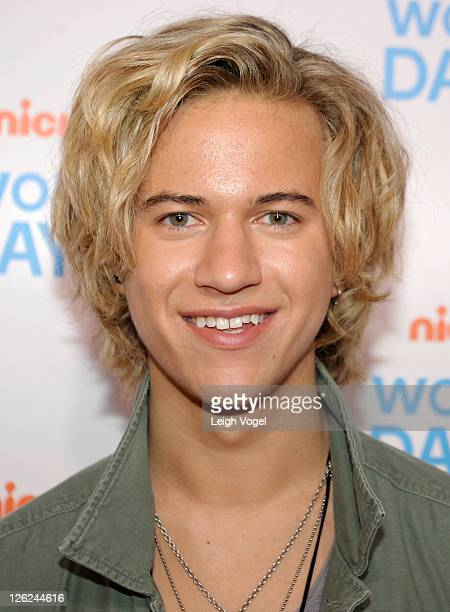 Dillon Lane attends Nickelodeon's celebration of the 8th Annual Worldwide Day of Play at The W Hotel on September 23 2011 in Washington DC