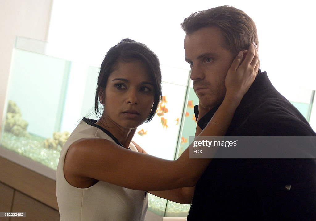 Dilshad Vadsaria and Rob Kazinsky in the Geworfenheit episode of SECOND CHANCE airing Friday March 18 on FOX