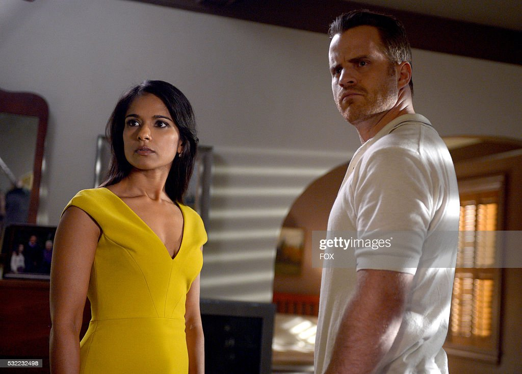 Dilshad Vadsaria and Rob Kazinsky in the Palimpsest episode of SECOND CHANCE airing Friday Feb 19 on FOX