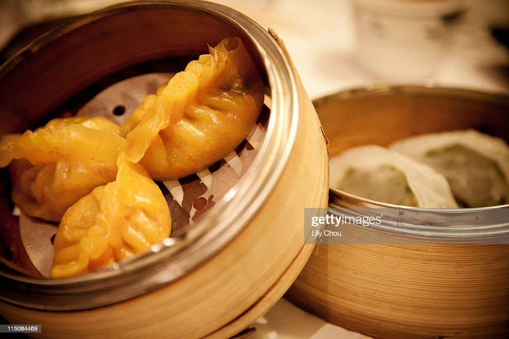 Dim sum dumplings : Stock Photo
