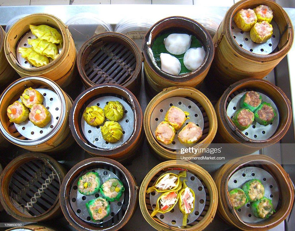 Dim Sum in Kuala Lumpur : Stock Photo