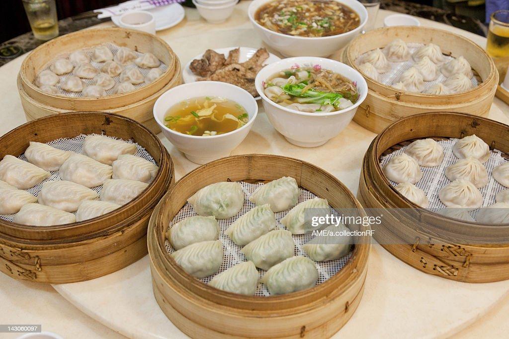 Dim Sum, Taiwan : Stock Photo