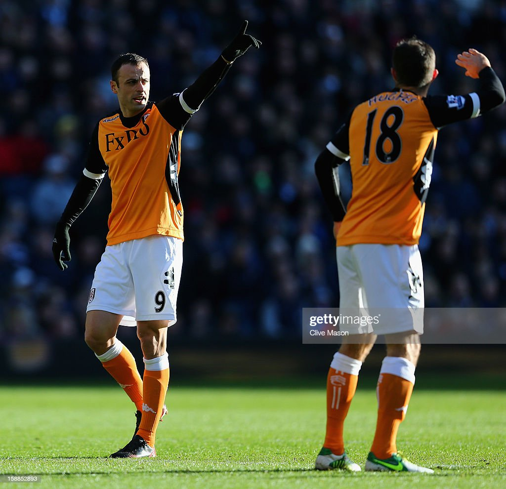 <a gi-track='captionPersonalityLinkClicked' href=/galleries/search?phrase=Dimitar+Berbatov&family=editorial&specificpeople=216379 ng-click='$event.stopPropagation()'>Dimitar Berbatov</a> of Fulham in action during the Barclays Premier League match between West Bromwich Albion and Fulham at The Hawthorns, on January 1, 2013 in West Bromwich, England.