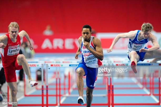 Dimitri BASCOU 60m Haies Championnats d'Europe en salle BercyParis
