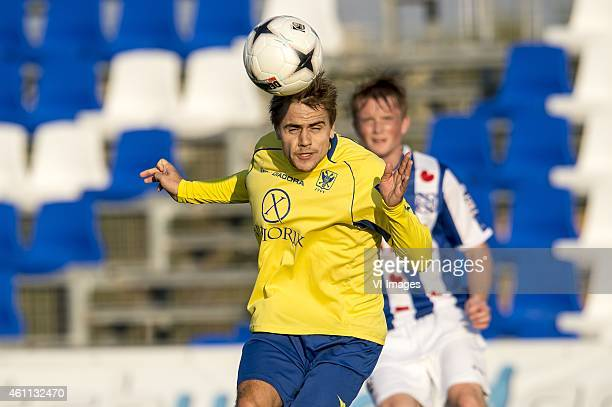 Dimitri Daeseleire of St Truiden during the friendly match between SC Heerenveen and Sint Truiden on January 7 2014 at the Pinatar Arena San Pedro...