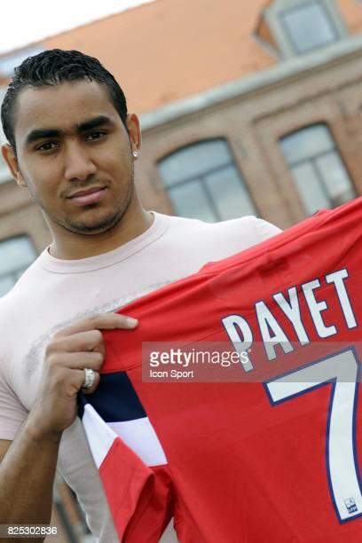 Dimitri PAYET reprise Entrainement et conference de presse Lille Ligue 1 2011/2012