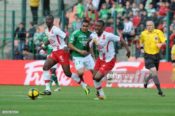 Dimitri PAYET / Andre LUIZ Saint Etienne / Nancy 31e journee Ligue 1