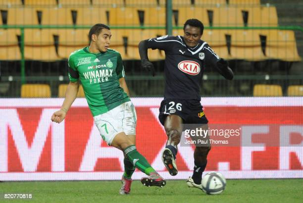 Dimitri PAYET / Maazou OUWO MOUSSA Saint Etienne / Bordeaux 16e journee Ligue 1
