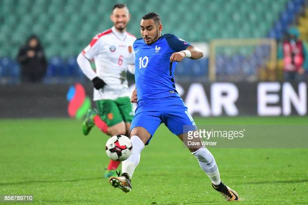 Dimitri Payet of France during the Fifa 2018 World Cup qualifying match between Bulgaria and France on October 7 2017 in Sofia Bulgaria