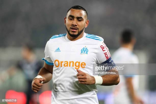 Dimitri Payet of Marseille during the Ligue 1 match between FC Girondins de Bordeaux and Olympique Marseille at Stade Matmut Atlantique on November...