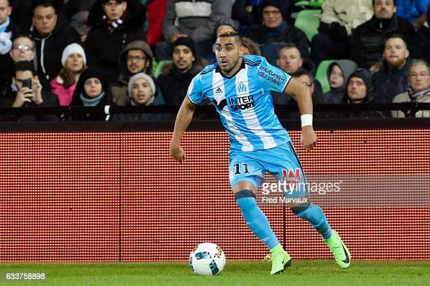 Dimitri Payet of Marseille during the Ligue 1 match between FC Metz and Olympique de Marseille at Stade SaintSymphorien on February 3 2017 in Metz...