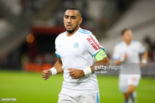 Dimitri Payet of Marseille during the Ligue 1 match between Olympique Marseille and Stade Rennais at Stade Velodrome on September 10 2017 in Marseille