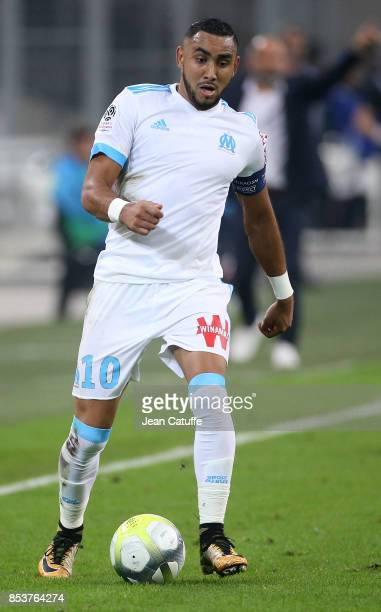 Dimitri Payet of OM during the French Ligue 1 match between Olympique de Marseille and Toulouse FC at Stade Velodrome on September 24 2017 in...