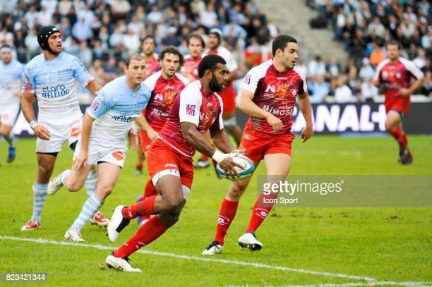 Dimitri PELO Bayonne / Montpellier 11eme journee de Top14