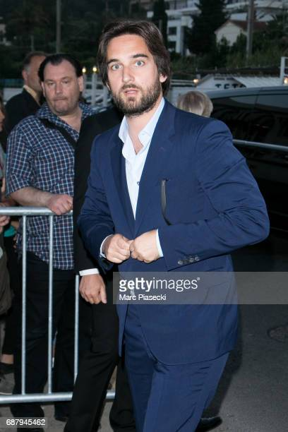 Dimitri Rassam is spotted during the 70th annual Cannes Film Festival at the 'Vanity Fair CHANEL' dinner at Tetou restaurant on May 24 2017 in Cannes...