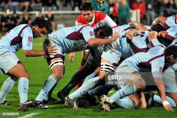Dimitri YACHVILI Biarritz / Bourgoin 16eme journee du Top 14