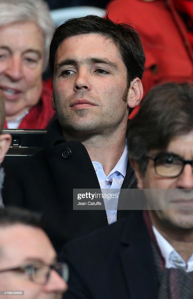 <a gi-track='captionPersonalityLinkClicked' href=/galleries/search?phrase=Dimitri+Yachvili&family=editorial&specificpeople=226873 ng-click='$event.stopPropagation()'>Dimitri Yachvili</a> attends the Ligue 1 match between Paris Saint-Germain FC and AS Saint-Etienne at Parc des Princes stadium on March 16, 2014 in Paris, France.