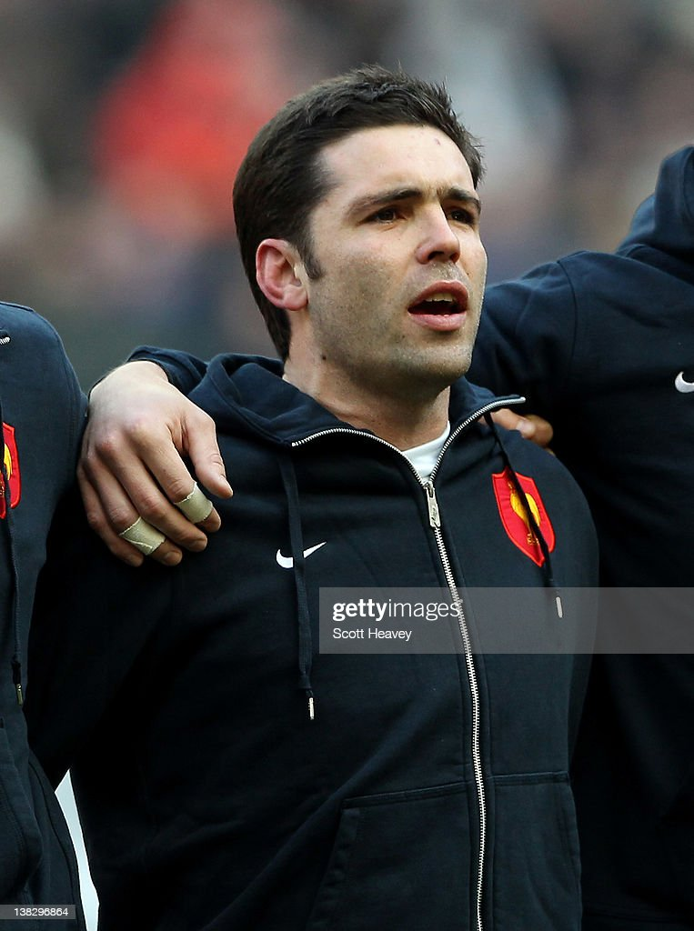 <a gi-track='captionPersonalityLinkClicked' href=/galleries/search?phrase=Dimitri+Yachvili&family=editorial&specificpeople=226873 ng-click='$event.stopPropagation()'>Dimitri Yachvili</a> of France during the RBS 6 Nations match between France and Italy at Stade de France on February 4, 2012 in Paris, France.
