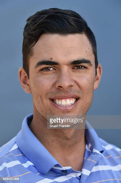 Dimitrios Papadatos of Australia poses for a photograph during the first round of the European Tour qualifying school final stage at PGA Catalunya...