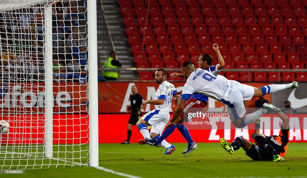 Greece v Liechtenstein - FIFA 2014 World Cup Qualifier