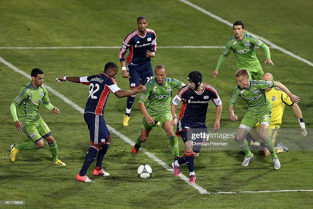 Seattle Sounders v New England Revolution - FC Tucson Desert Diamond Cup