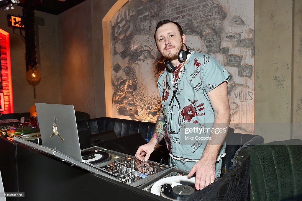 Dimitry Mak spins during Heidi Klum's 17th Annual Halloween Party sponsored by SVEDKA Vodka at Vandal on October 31, 2016 in New York City.