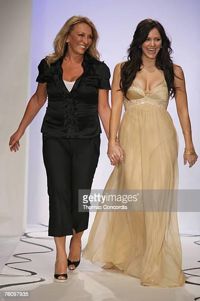 Dina BarEl designer and Katharine McPhee