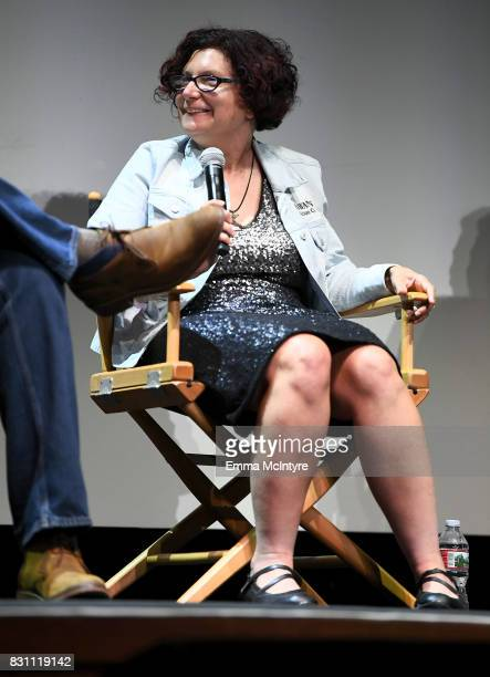 Dina Buno speaks onstage at 2017 Sundance NEXT FEST at The Theater at The Ace Hotel on August 13 2017 in Los Angeles California