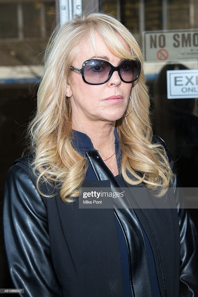 Dina Lohan appears in court after her arrest on September 12, 2013 for driving while intoxicated and speeding at Nassau County First District Court on November 21, 2013 in Hempstead, New York.