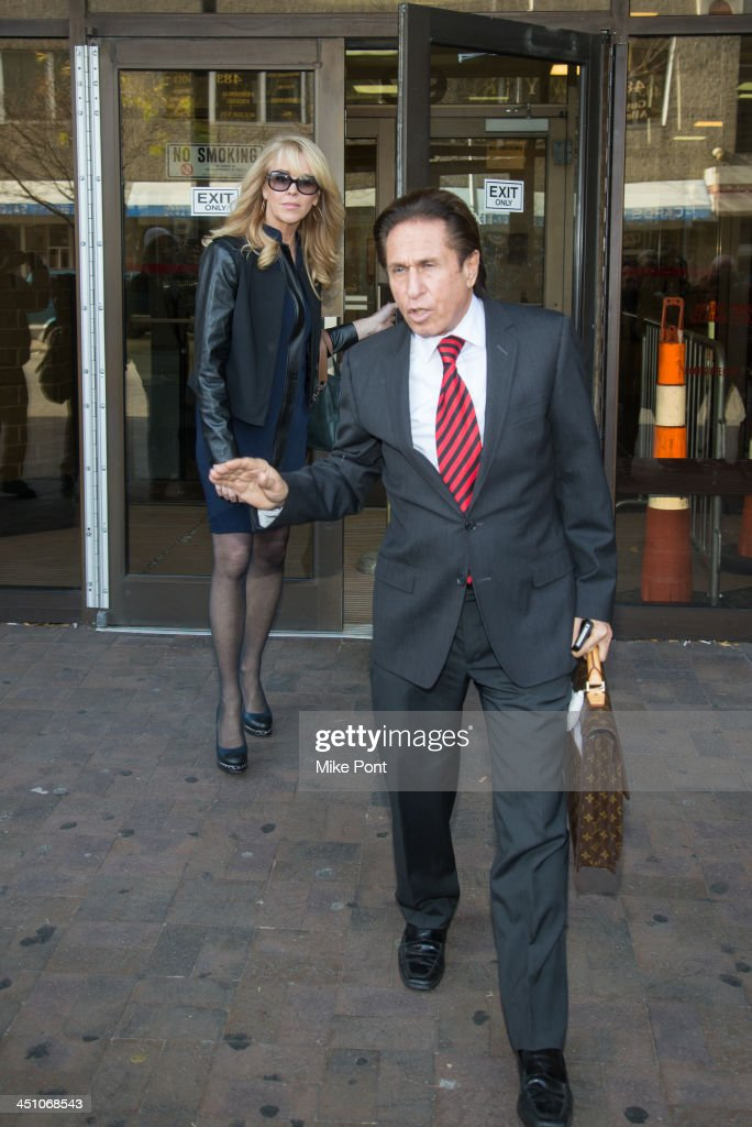 <a gi-track='captionPersonalityLinkClicked' href=/galleries/search?phrase=Dina+Lohan&family=editorial&specificpeople=594100 ng-click='$event.stopPropagation()'>Dina Lohan</a> (L) appears in court with Attorney Mark Heller after her arrest on September 12, 2013 for driving while intoxicated and speeding at Nassau County First District Court on November 21, 2013 in Hempstead, New York.