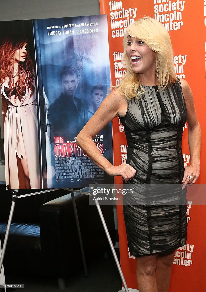 <a gi-track='captionPersonalityLinkClicked' href=/galleries/search?phrase=Dina+Lohan&family=editorial&specificpeople=594100 ng-click='$event.stopPropagation()'>Dina Lohan</a> attends a screening of 'The Canyon' presented by Film Society of Lincoln Center at The Film Society of Lincoln Center, Walter Reade Theatre on July 29, 2013 in New York City.