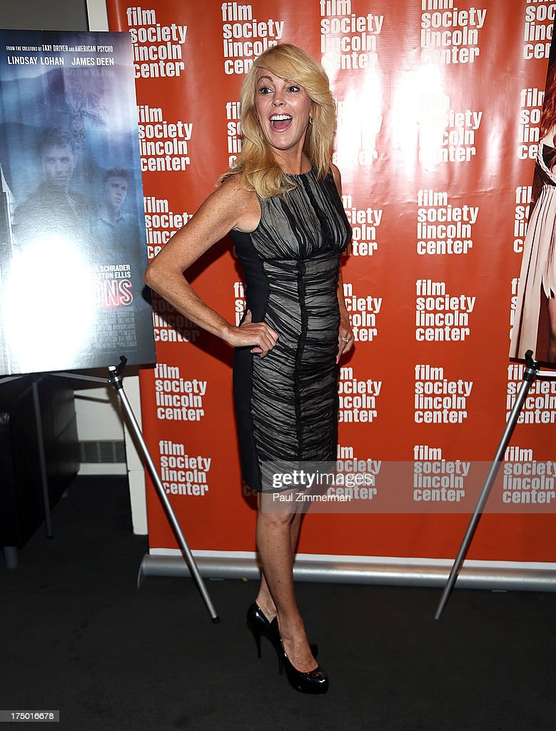 <a gi-track='captionPersonalityLinkClicked' href=/galleries/search?phrase=Dina+Lohan&family=editorial&specificpeople=594100 ng-click='$event.stopPropagation()'>Dina Lohan</a> attends the 'The Canyon' premiere at The Film Society of Lincoln Center, Walter Reade Theatre on July 29, 2013 in New York City.