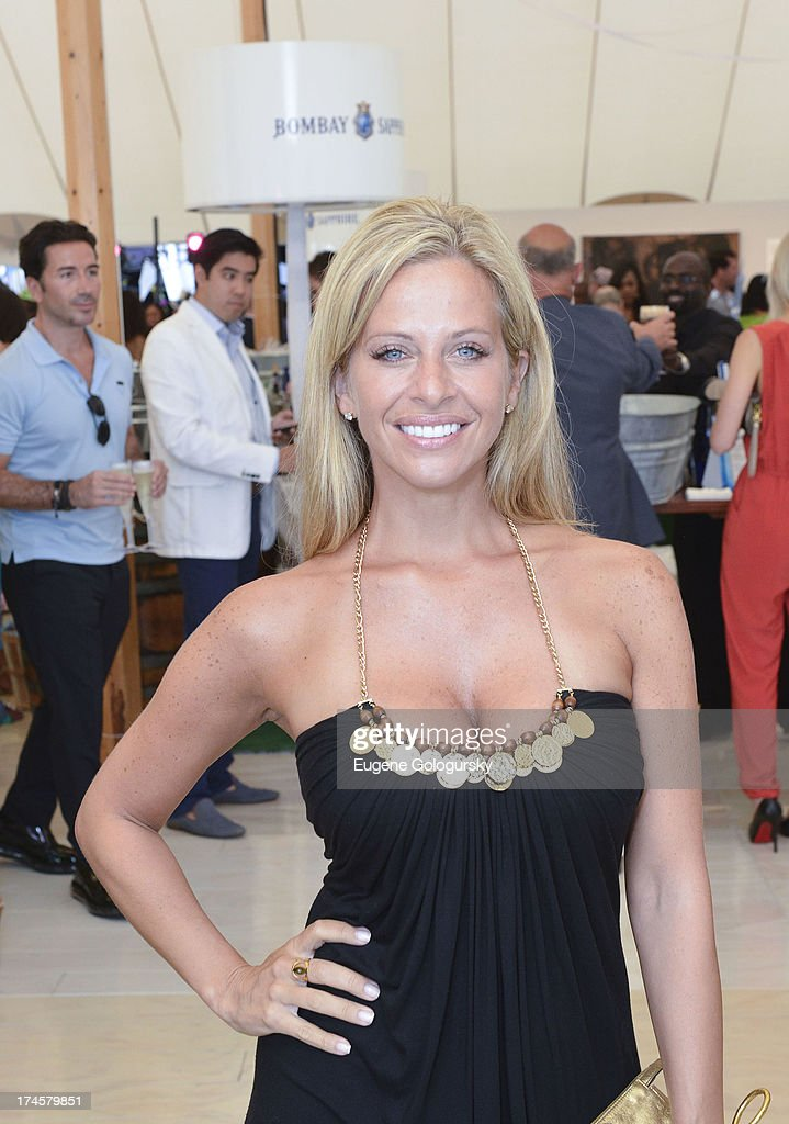 Dina Manza attend the Russell Simmons 14th Annual Art For Life Benefit Sponsored By BOMBAY SAPPHIRE Gin at Fairview Farms on July 27, 2013 in Bridgehampton, New York.