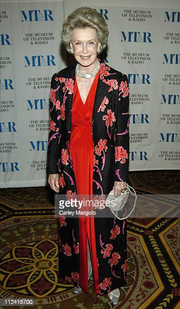 Dina Merril during The Museum of Television Radio Honor Bob Wright and 'Saturday Night Live' at its Annual New York Gala at Waldorf Astoria in New...