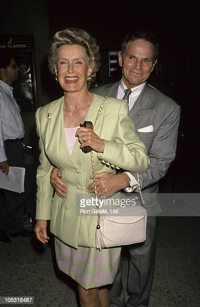Dina Merrill and Ted Hartley during 'House of the Spirits' Benefit Screening for American Cinematheque at Cineplex Odeon in Century City California...