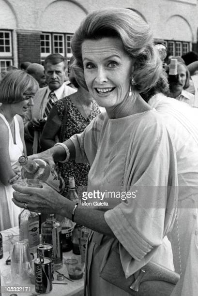 Dina Merrill during 20th Anniversary Cocktail Party to Benefit Montauk Village Association at Monta Manor in New York City New York United States