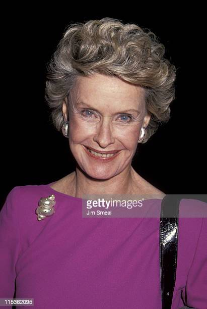 Dina Merrill during Museum of Broadcasting Gala March 4 1991 at Los Angeles Museum of Art in Los Angeles California United States
