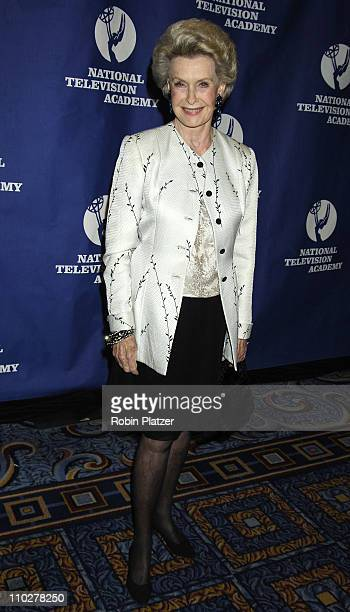 Dina Merrill during Robert Iger Honored by The National Academy at The New York Marriott Marquis Hotel in New York City New York United States