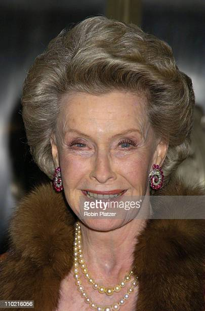 Dina Merrill during The 30th Anniversary of The New Yorker For New York Awards Benefitting Citzens For NYC at The Waldorf Astoria Hotel in New York...