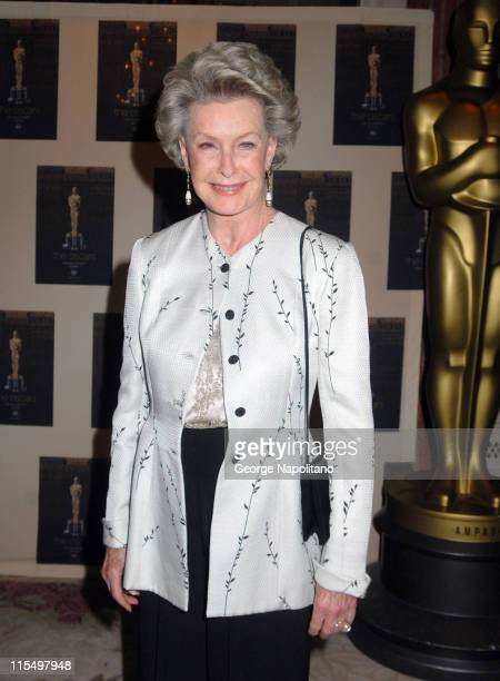 Dina Merrill during The Academy of Motion Picture Arts and Sciences Official New York 2007 Oscar Party at St Regis Hotel in New York City New York...