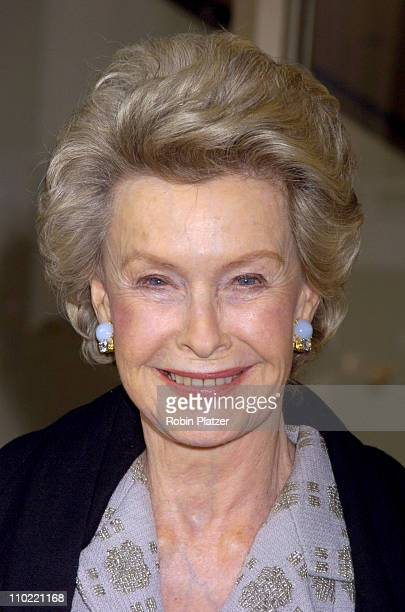 Dina Merrill during The Film Society of Lincoln Center Honors Dustin Hoffman at Lincoln Center's Avery Fisher Hall in New York City New York United...