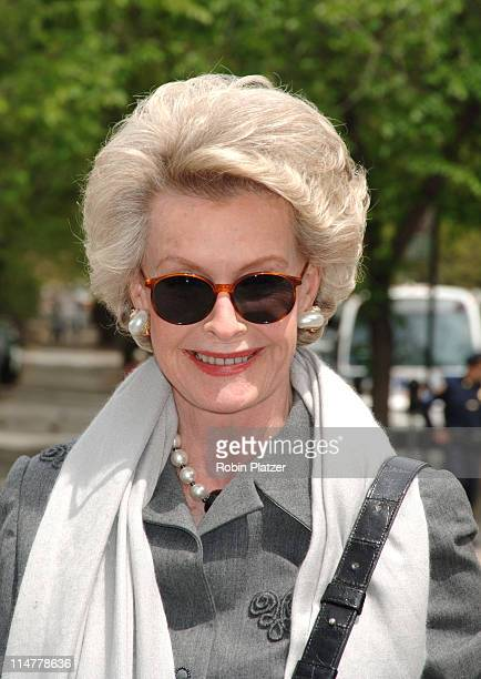 Dina Merrill Hartley during The 24th Annual Frederick Law Olmsted Awards Luncheon at Central Parks Conservatory Garden in New York City New York...