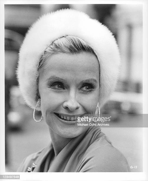 Dina Merrill poses for a head shot in a scene from the film 'The Greatest' 1977