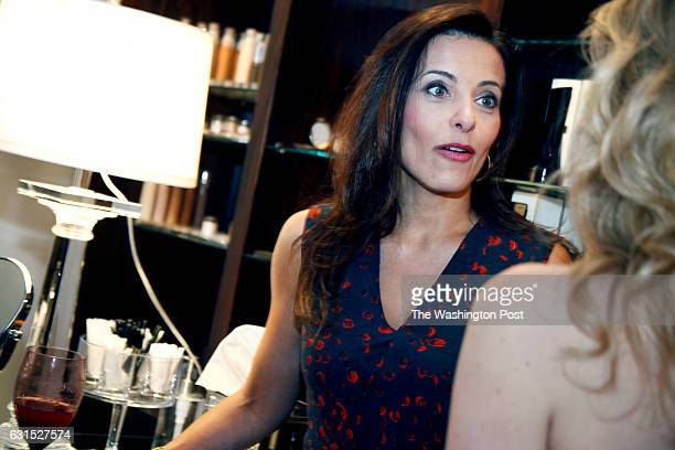 Dina Powell at the opening celebration of Nectar skin bar a premier beauty and body retreat in Washington DC
