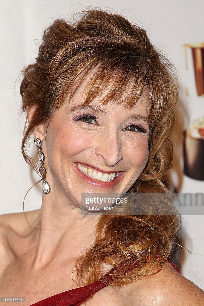 Dina Sherman arrives at the 40th Annual Annie Awards held at Royce Hall on the UCLA Campus on February 2, 2013 in Westwood, California.